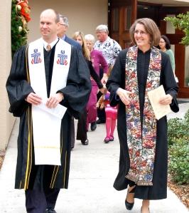 Pastors Tim Black and Rebekah Maul