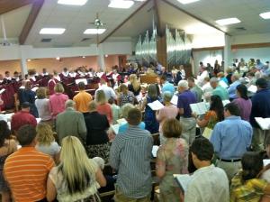 worship at Brandon 2012