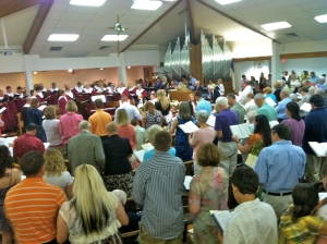 worship at Brandon 2012