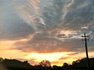 March 26 Sunrise
