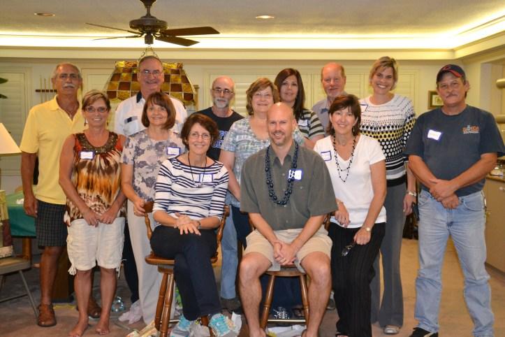 First Presbyterian of Brandon, church staff goodbye party