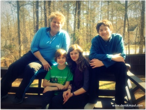 Margie, Amy, Olivia, Scott