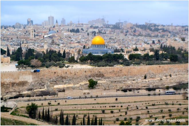 Jerusalem from the Mt. of Olives