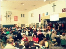 Maunday Thursday: communion around the tables