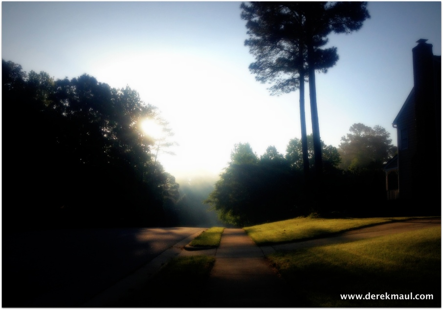 Early morning in Tyler Run