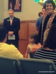 Abby's baptism at WFPC July 20