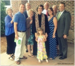 Boyd family - Joyful baptism at WFPC
