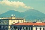 Vesuvius from hotel room