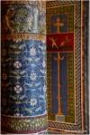 mosaic pillars from Pompeii