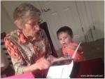 helping Great-grandma