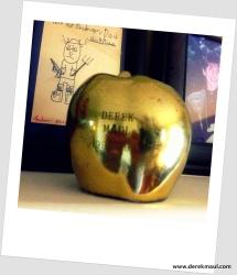 my teacher of the year apple