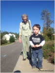 David with Great-grandma Grace