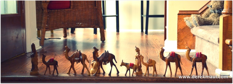 The Magi are on the move at Maul-Hall