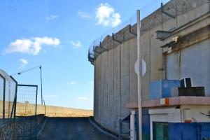 Bethlehem behind a wall...