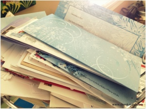 19. the growing pile of newsletters