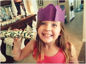 Haley being a goofy great-niece