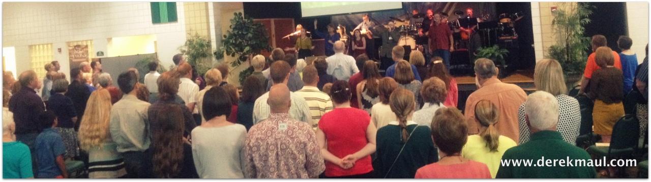 9:00 worship at WFPC