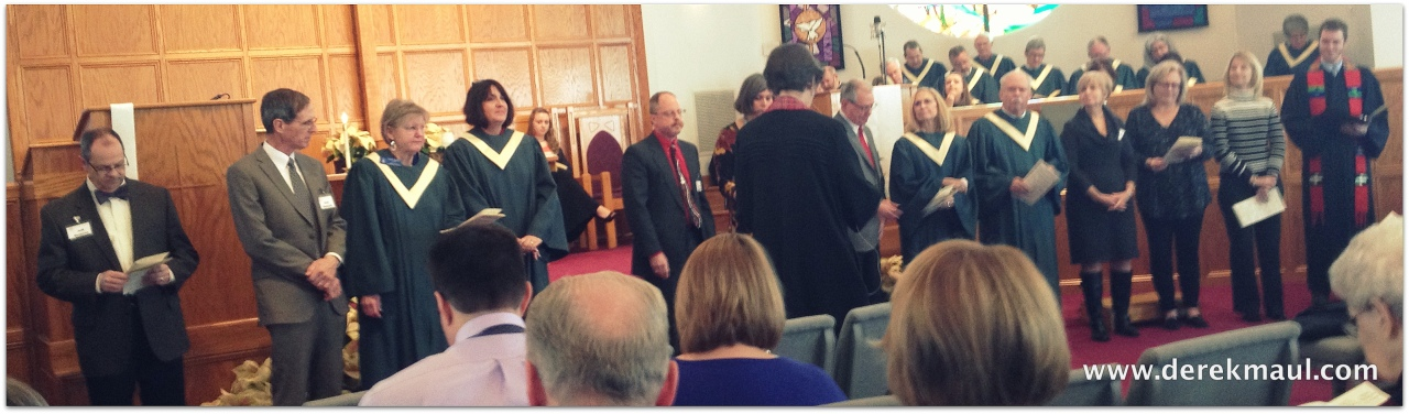 witnesses to grace and peace - new elders and deacons