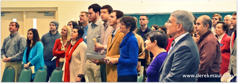 open hearts in worship at WFPC
