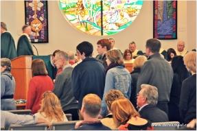 11:15 communion