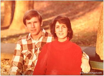 """circa 1981, but still a good look at """"early Rebekah-Derek"""""""
