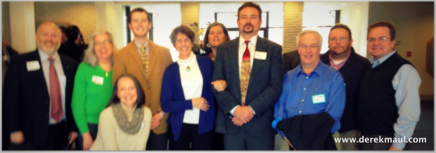 slightly out of focus but enthusiastic Presbyterians from WFPC