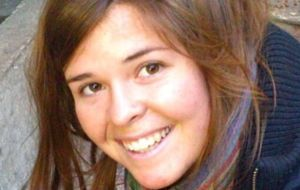 Kayla Mueller (26-year old aid worker)