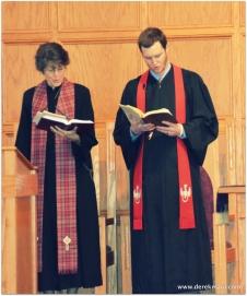 a new pastor! - Rebekah and John