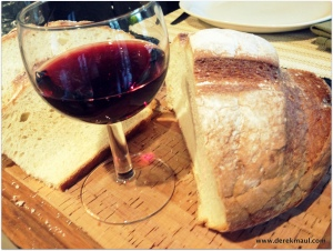 sourdough and cabernet