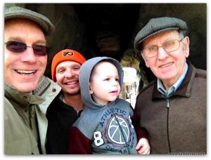 four generations at putt-putt