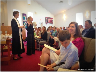 Rebekah and Lisa (director of children's ministry)