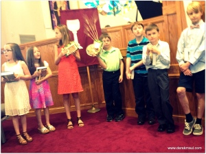 some of the Prep-for-Worship kids