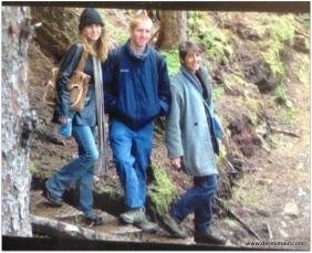 the Alaska hike, 2006