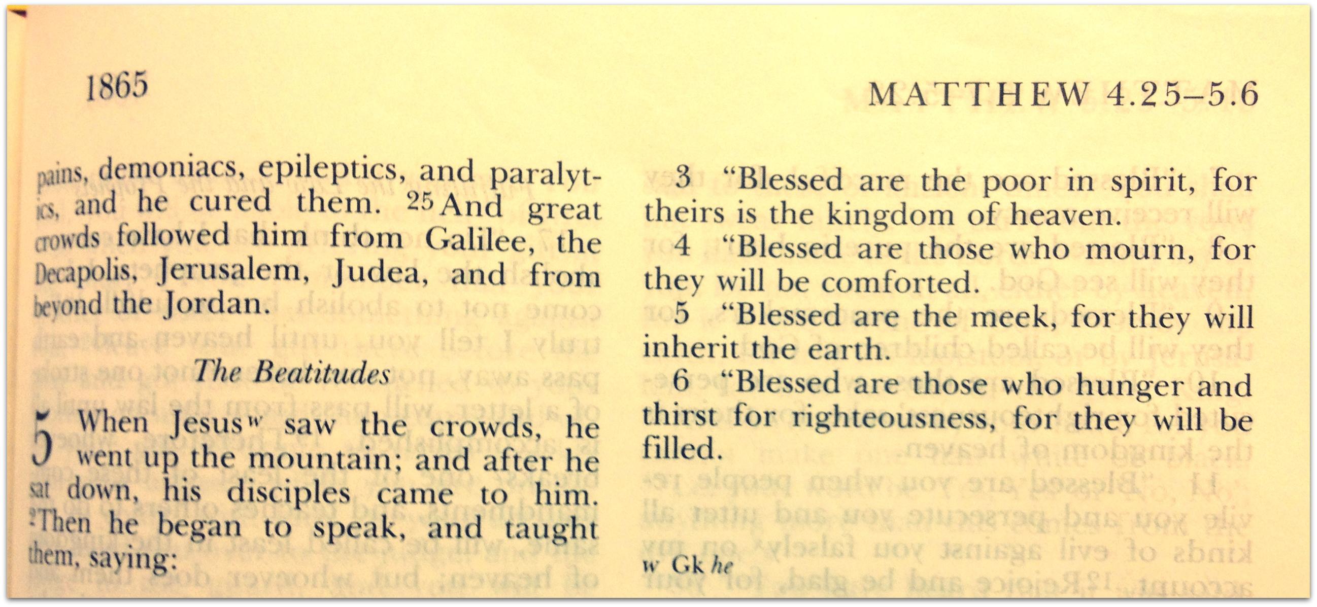 good grief beatitudes � derek maul