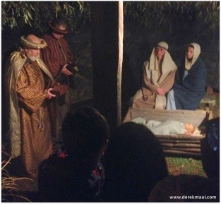 Mary and Joseph and the wise men