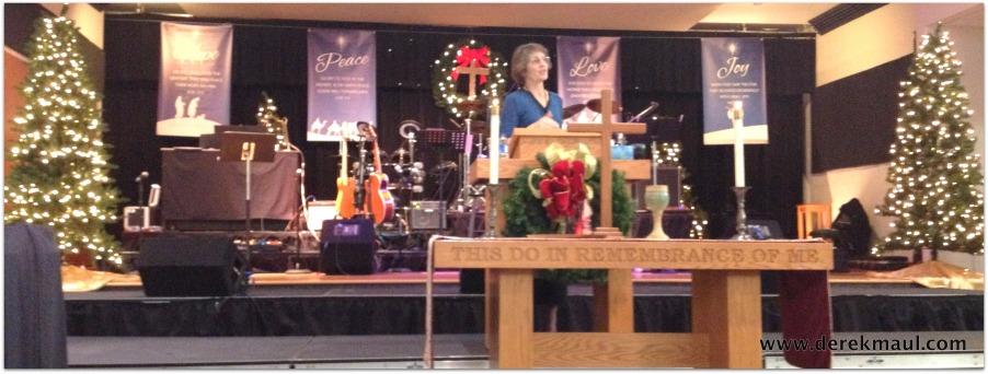 Rebekah preaching