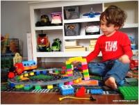 cool lego train set