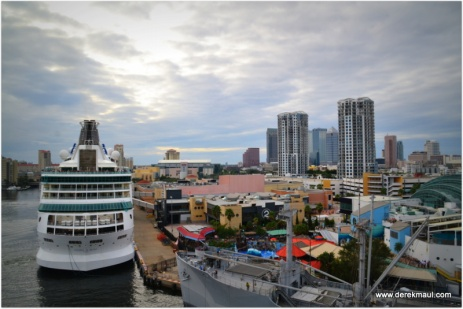 leaving our moorings - Port Tampa