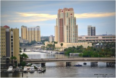 looking up the Hillsborough river