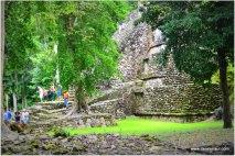 remote Mayan ruins