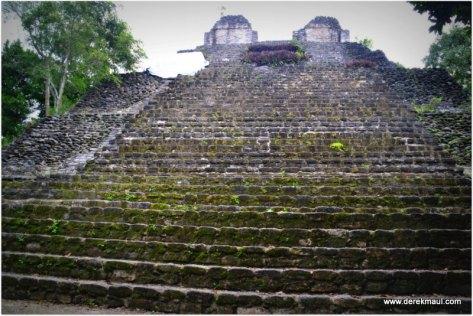 many steep steps