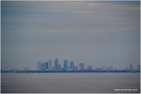 Tampa in the distance