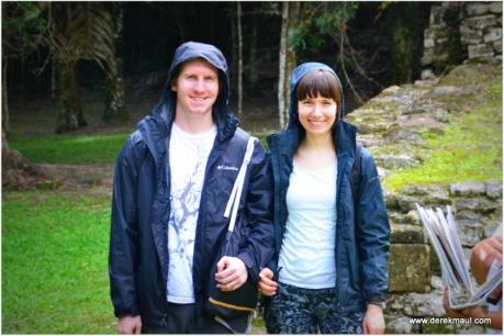 light rain - Andrew and Alicia