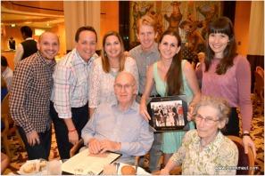 my folks with their grandchildren