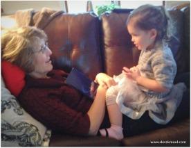 Rebekah and Beks, talking