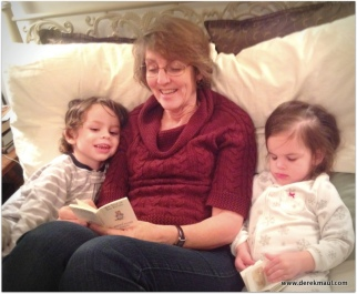 reading at bedtime