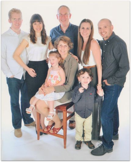 The Derek and Rebekah Maul family (image by Royal Caribbean)