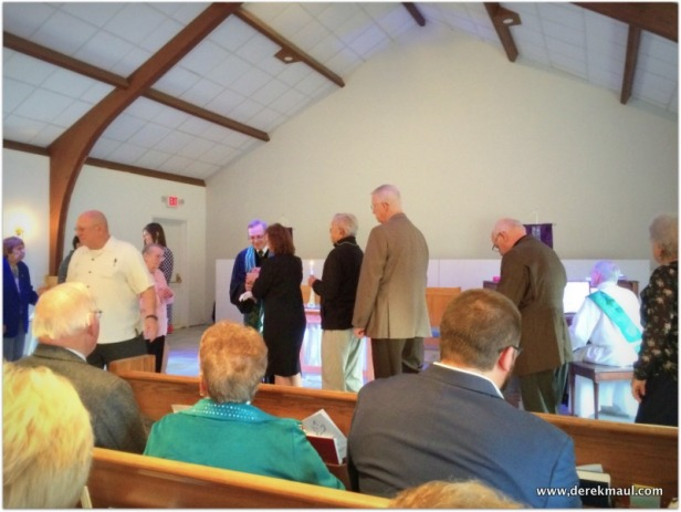 Communion is central to life in the Christian Church (Disciples of Christ)