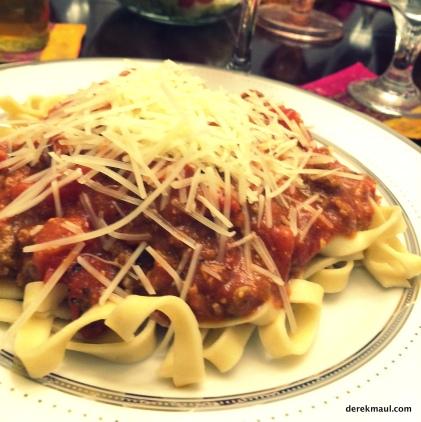 """""""home-run"""" spaghetti!"""