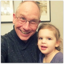 sweet Beks with her grandaddy